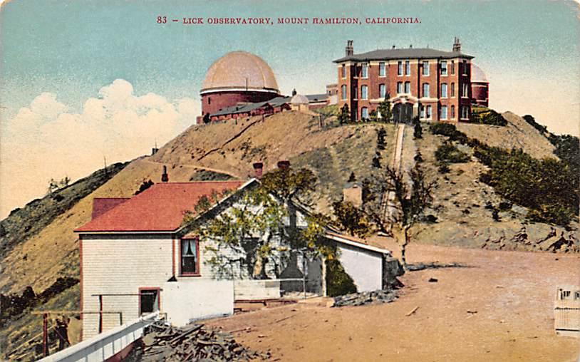 Mount Hamilton CA