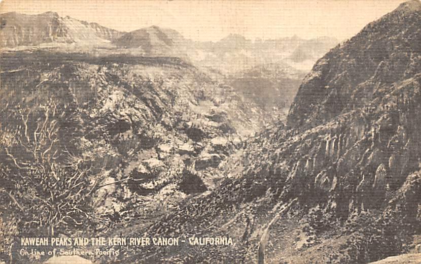 Kern River Canon CA