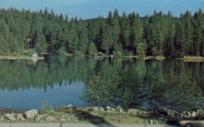 Lake Vera - Nevada City, California CA Postcard