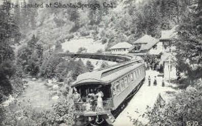 The Limited  - Shasta Springs, California CA Postcard