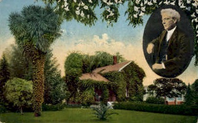 Luther Burbank's Home - Santa Rosa, California CA Postcard