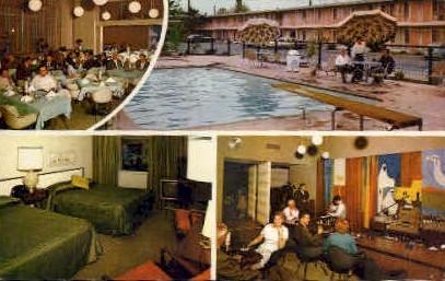 Sands Caravan Inn - Bakersfield, California CA Postcard
