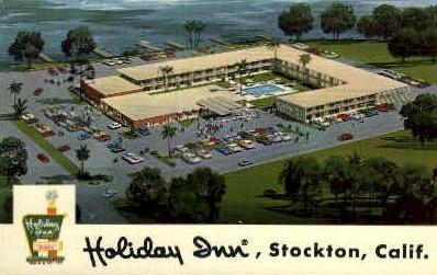Holiday Inn - Stockton, California CA Postcard