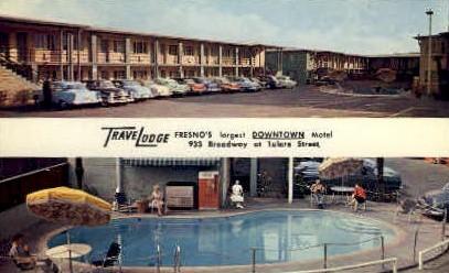 Travelodge - Fresno, California CA Postcard