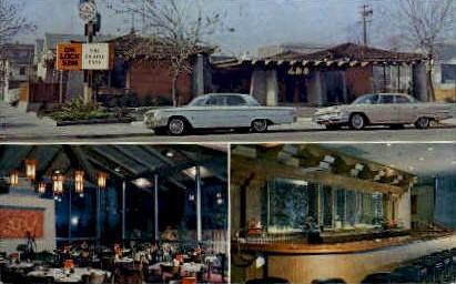 On Lock Sam Restaurant - Stockton, California CA Postcard