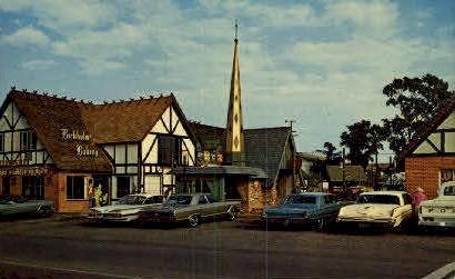 Danish Solvang - California CA Postcard