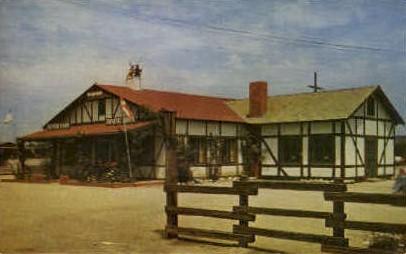 The Danish Inn - Solvang, California CA Postcard