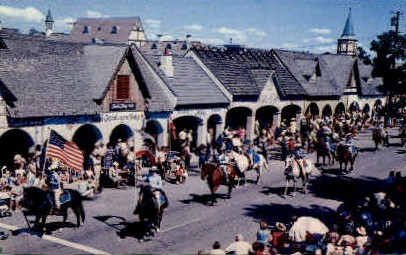 Danish Days Festival - Solvang, California CA Postcard