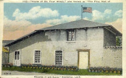 House of the Four Winds - Monterey, California CA Postcard