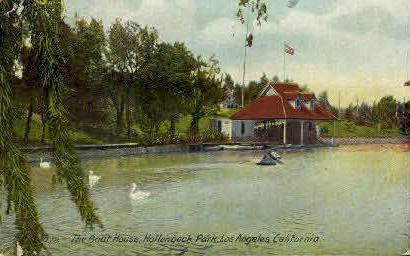 The Boat House - Los Angeles, California CA Postcard