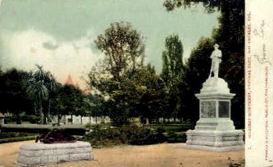 Soldiers Monument - Los Angeles, California CA Postcard