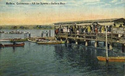 All for Sports, Balboa Bay - California CA Postcard