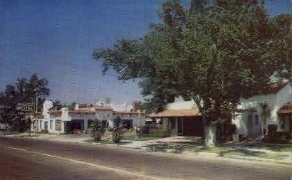 El Dorado Motel - Stockton, California CA Postcard