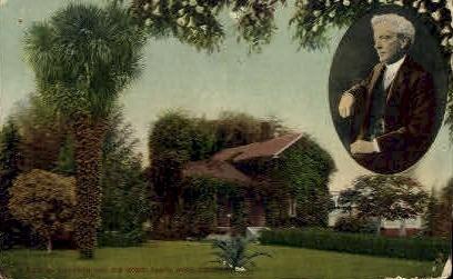 Luther Burbank's Residence - Santa Rosa, California CA Postcard