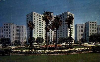 Park Labrea Towers - Los Angeles, California CA Postcard