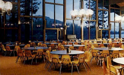 Ponderosa Dining Commons - Fresno, California CA Postcard