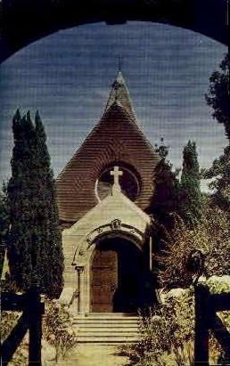 St. John's Chapel - Monterey, California CA Postcard