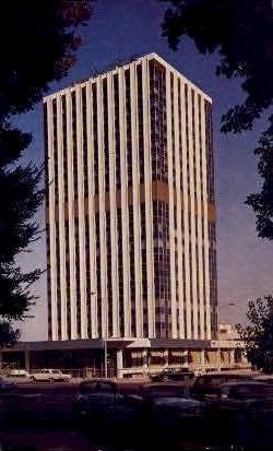 Del Webb's Towne House - Fresno, California CA Postcard