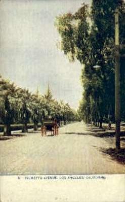 Palmetto Ave.  - Los Angeles, California CA Postcard