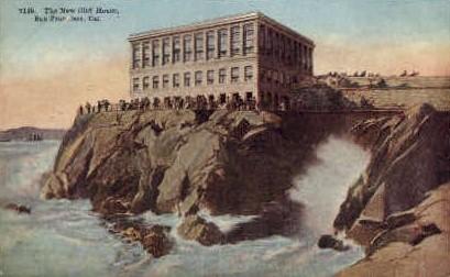 The New Cliff House - San Francisco, California CA Postcard