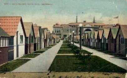Cottage City - Santa Cruz, California CA Postcard
