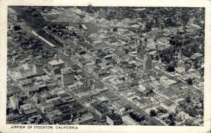 Stockton, California, CA Postcard