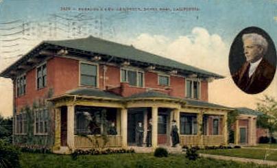 Burbank's New Residence - Santa Rosa, California CA Postcard
