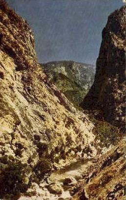 King's Canyon - Fresno, California CA Postcard