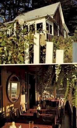 The Ledford House - Little River, California CA Postcard