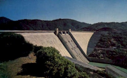 Shasta Dam   - California CA Postcard