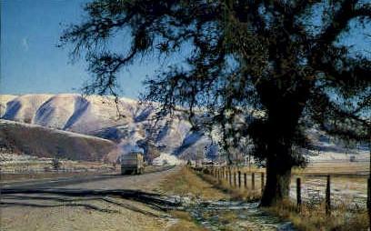 The Ridge Route - Los Angeles, California CA Postcard