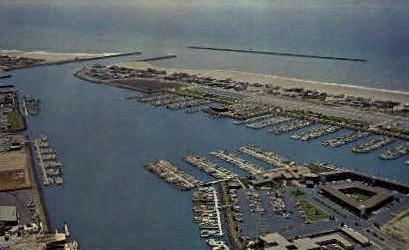 Channel Islands Harbor - Oxnard, California CA Postcard