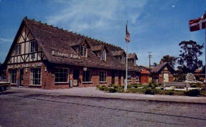 Birkholm's Danish Bakery - Solvang, California CA Postcard