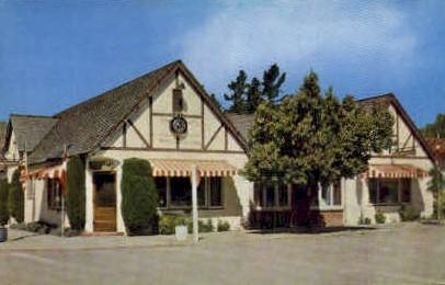 Danish Dinging Rooms - Solvang, California CA Postcard