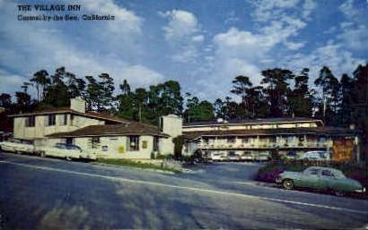The Village Inn - Carmel by the Sea, California CA Postcard