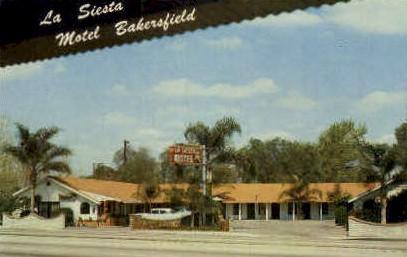 Motel Bakersfield - California CA Postcard