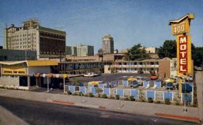 Imperial 400 Motel - Fresno, California CA Postcard