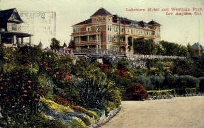 Lakeview Hotel - Los Angeles, California CA Postcard