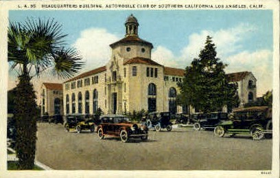 Automobile Club of Southern California - Los Angeles Postcard