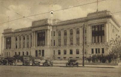 Kern County Court House - Bakersfield, California CA Postcard