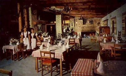 Danish Inn - Solvang, California CA Postcard