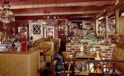 Hoosier Inn - Stockton, California CA Postcard