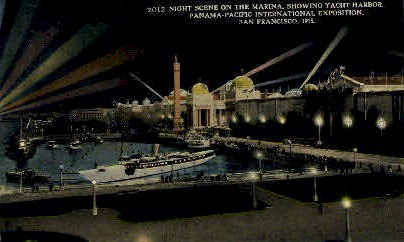 The Marina  - San Francisco, California CA Postcard