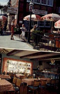 Heidelberg Inn - Solvang, California CA Postcard