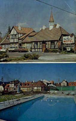 The Royal Copenhegen  - Solvang, California CA Postcard