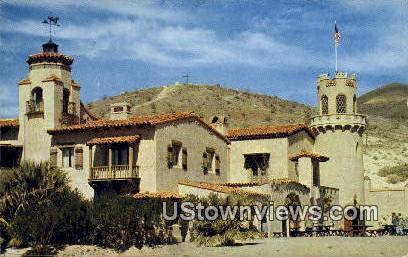 Death Valley Scotty's Castle - California CA Postcard
