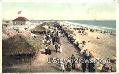 Coronado Tent City - California CA Postcard