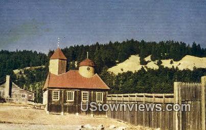 Fort Ross - Santa Rosa, California CA Postcard