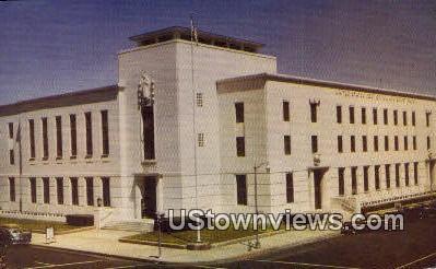 US Post Office - Fresno, California CA Postcard