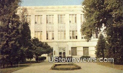 Fresno County's Hall of Records Bldg - California CA Postcard